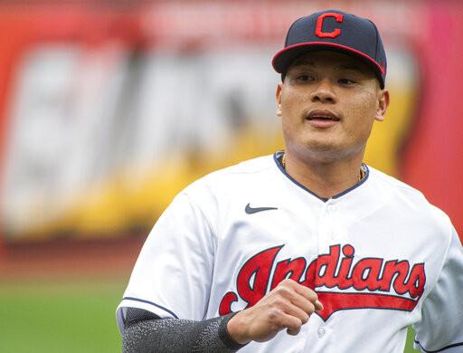 張育成升上大聯盟 擔任先發八棒一壘手
