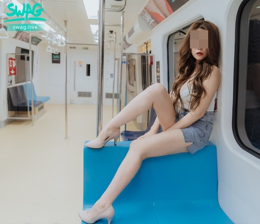 SWAG「北捷啪啪啪」系列慘了! 巨乳女優「愛子」遭刑事局約談