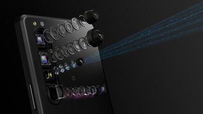 SONY三機齊發!全球首款望遠變焦手機登場