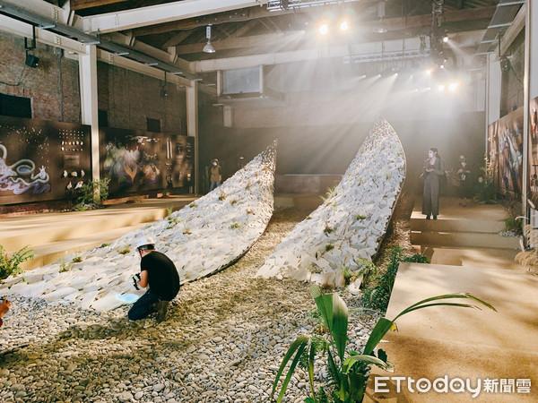 花蓮靈魂搬上台北!七星潭石頭、神秘物件 2021台灣文博會展出 | ET