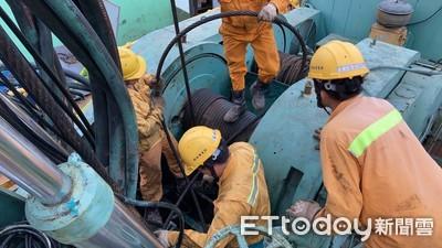 中油出動鑽油設備 鑿中部抗旱水井