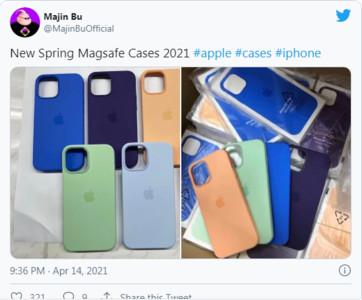 iPhone保護套照片流出!洩蘋果春季發表色彩密碼