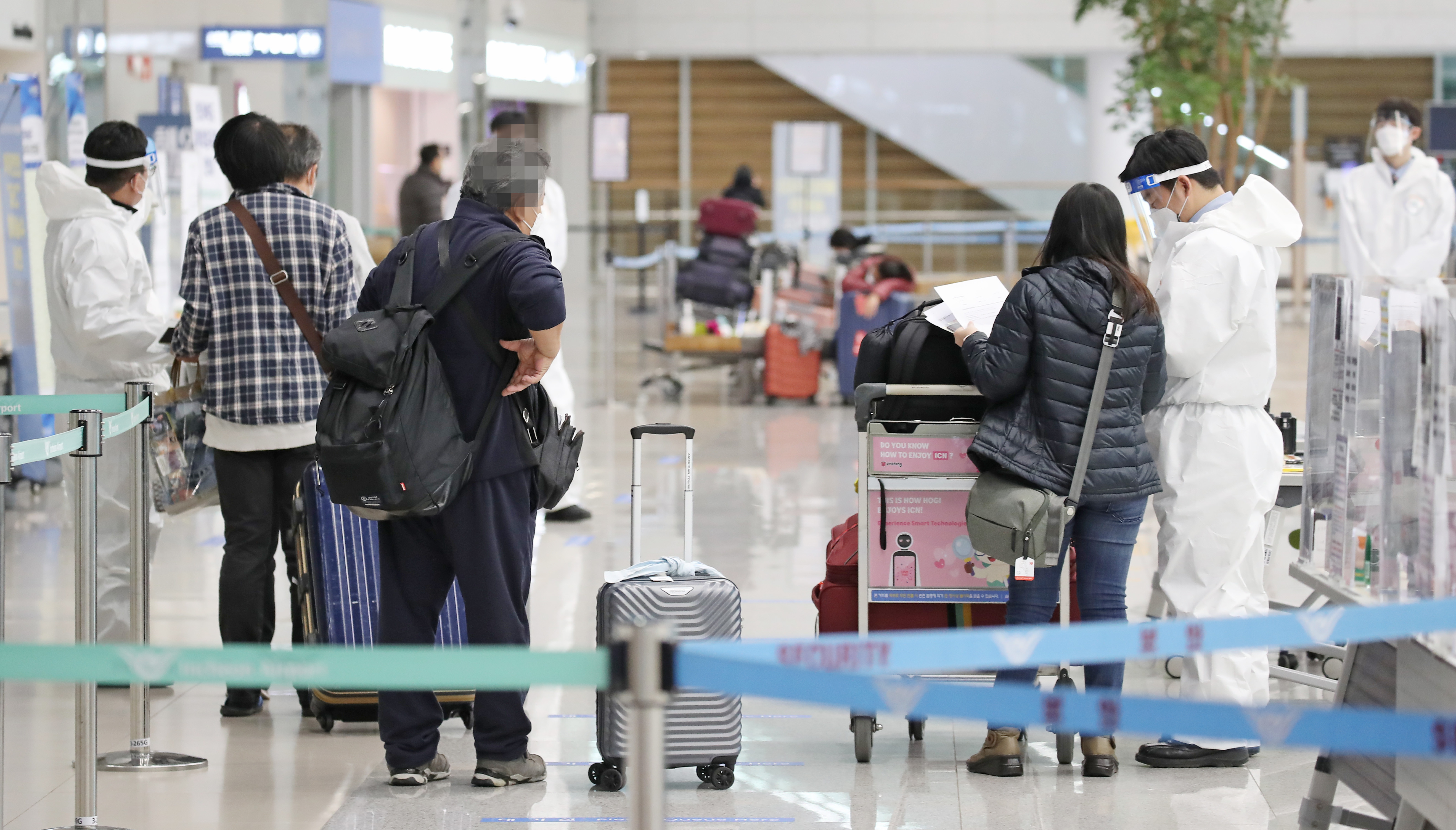 ▲▼南韓出現來自印度的「雙重突變」新冠變種病毒感染者,圖為仁川國際機場。(圖/達志影像)