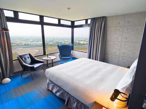 台中最新飯店5月開!躺床就能看賽車 加碼送早餐、免費玩水上樂園 | ET