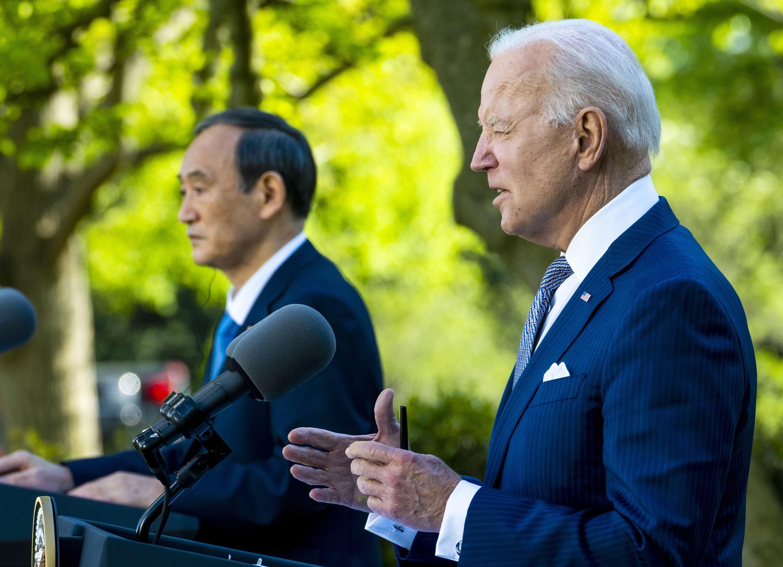 ▲▼美日峰會聯合聲明時隔52年再提台灣,顯示出日本在台海議題上的明確立場。(圖/達志影像)