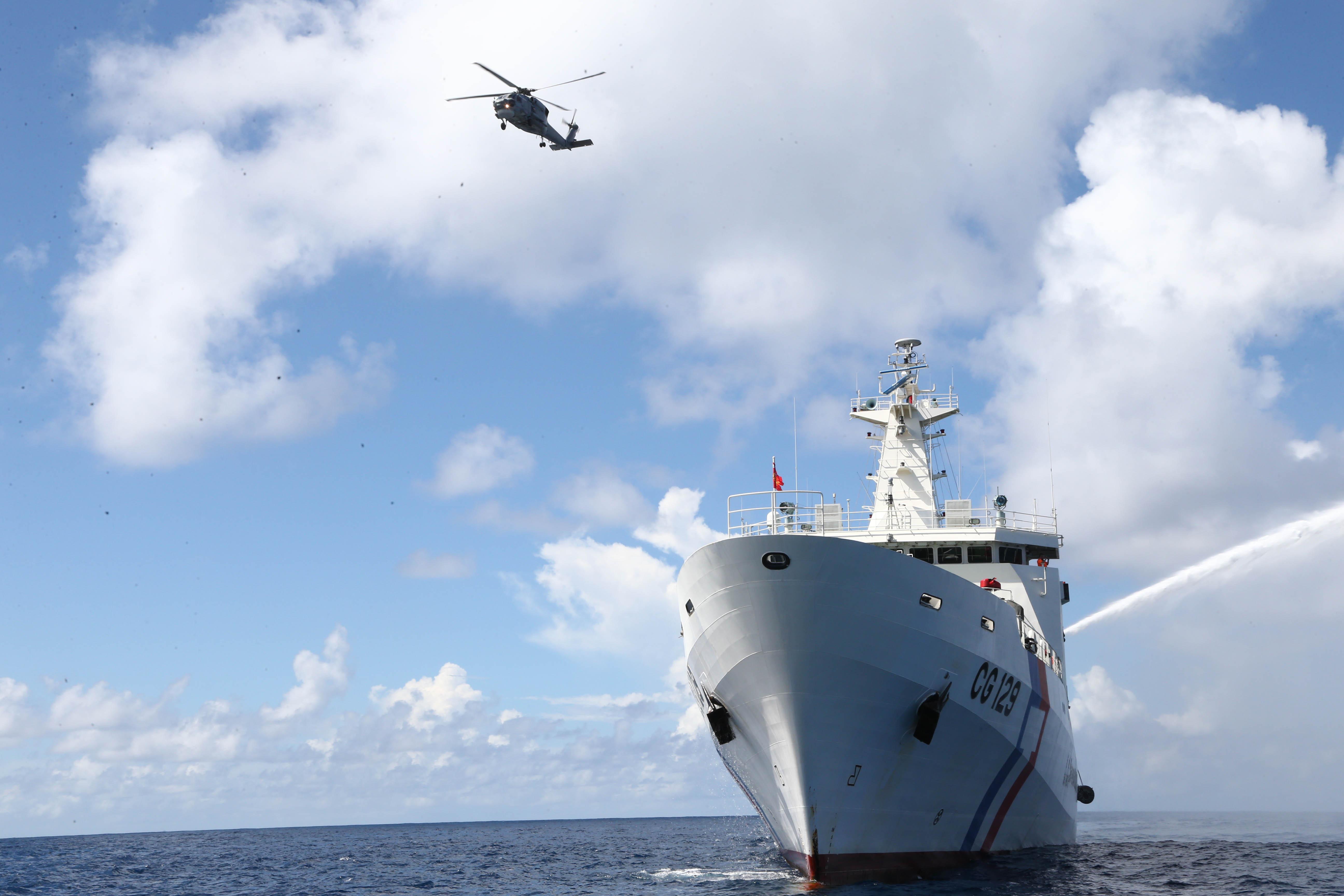 海委會,海巡署,航空分署,灰色地帶衝突,日本海上保安廳,C-130,海軍,空軍
