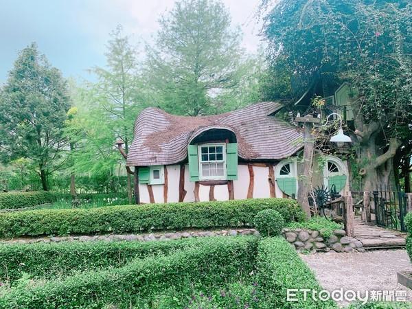 花蓮必去咖啡店!童話風玻璃屋喝下午茶 歐風花園迷宮有夢幻精靈屋 | ET
