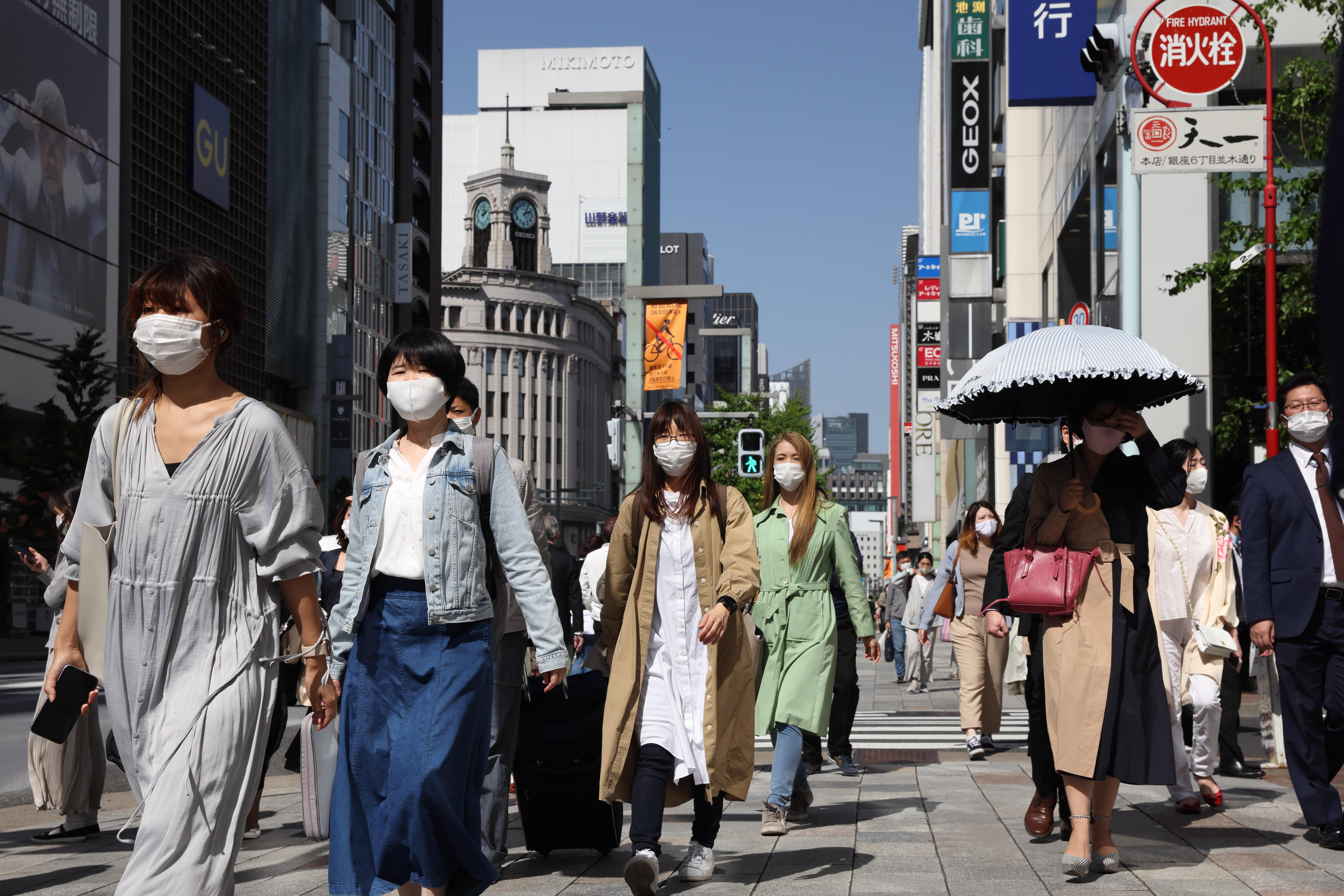 ▲▼日本東京都新冠疫情反彈,知事研擬籲請中央政府發佈緊急事態宣言。(圖/達志影像)
