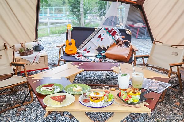 帳篷裡喝下午茶!桃園特色網美咖啡廳 提拉米蘇苦甜入口好濕潤   ETto