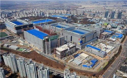▲▼三星電子在南韓京畿道華城的晶片生產工廠。(圖/達志影像)