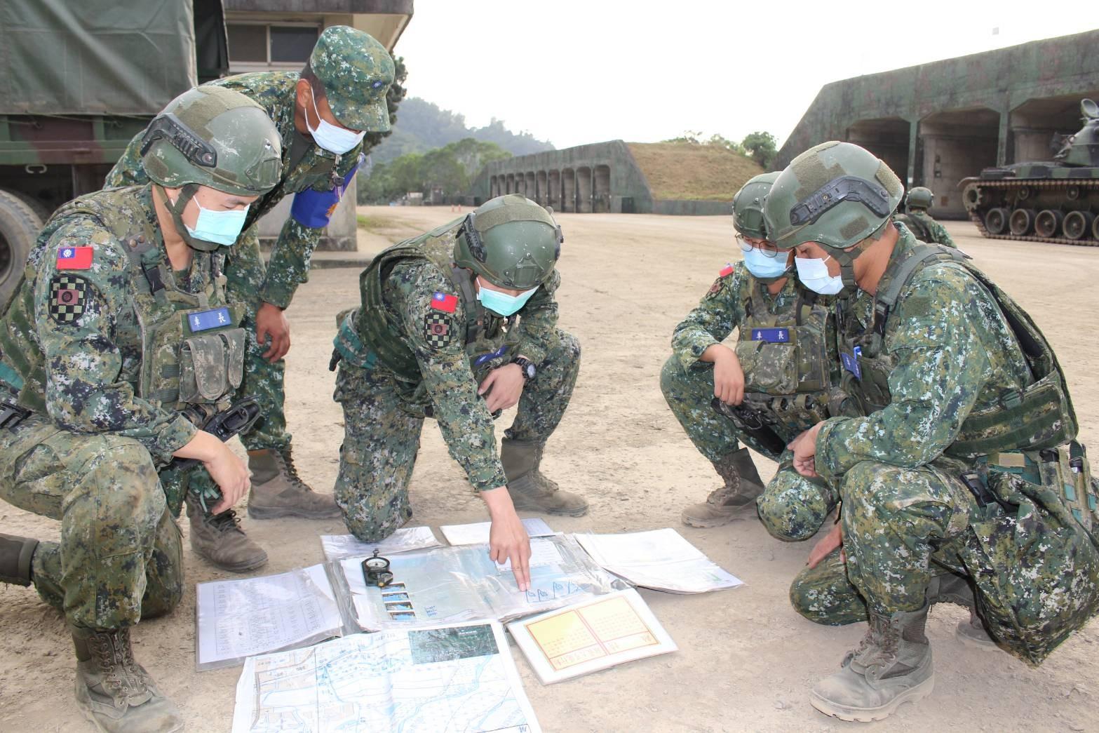軍事訓練役,後備動員,教育召集,役男,現行戰力,游擊隊,國防部,國軍,幹部
