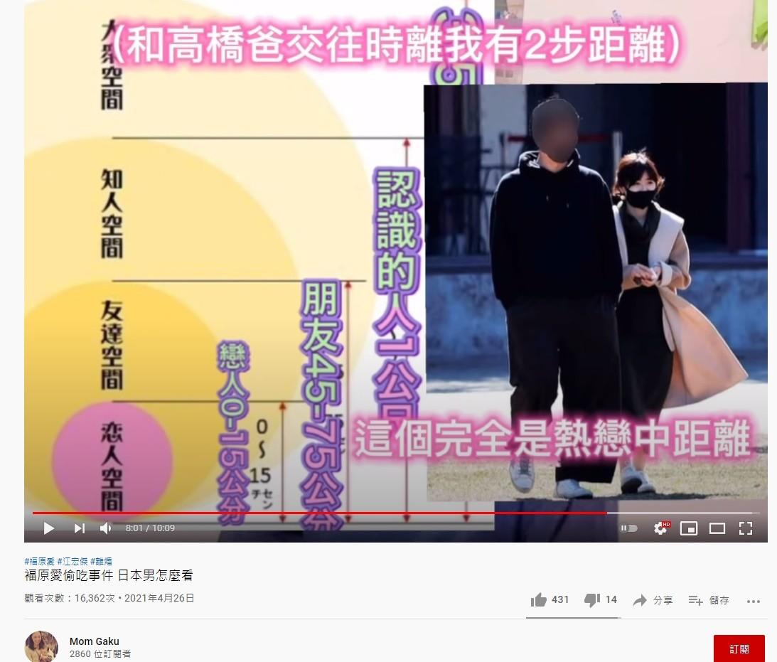 ▲Mom Gaku談福原愛。(圖/翻攝自YouTube/Mom Gaku)