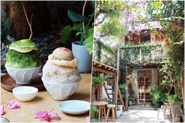 椪餅+黃豆粉超搭!台南安平巷弄內特色刨冰 抹茶奶蓋甜鹹帶苦韻 | ETt