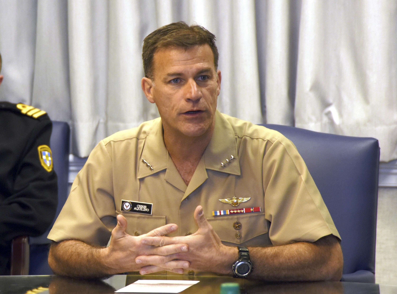 ▲▼原太平洋艦隊司令阿基里諾於30日就任美國印太司令部司令。(圖/達志影像/美聯社)