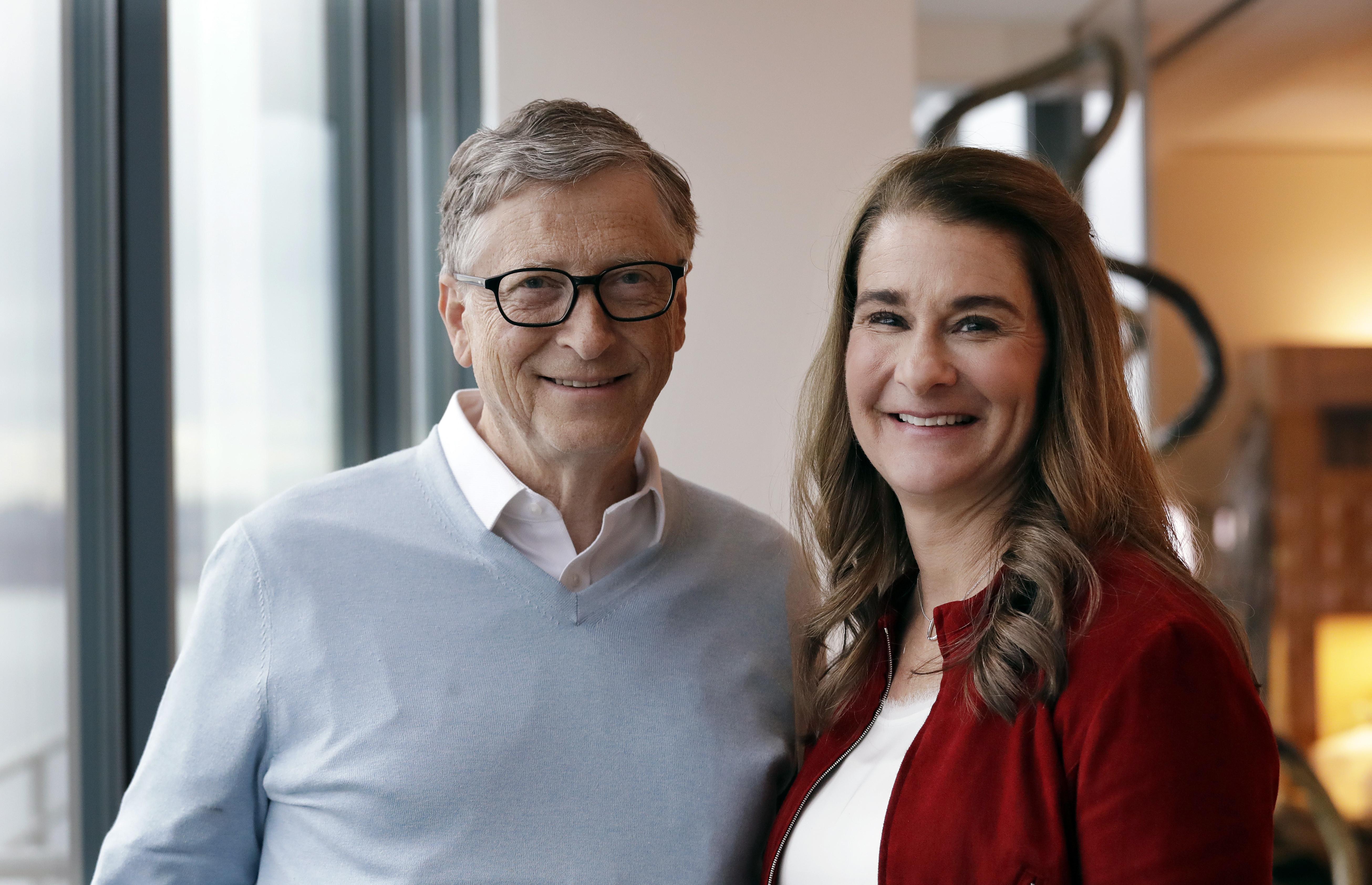 ▲▼比爾蓋茲(Bill Gates),梅林達(Melinda Gates)。(圖/達志影像/美聯社)