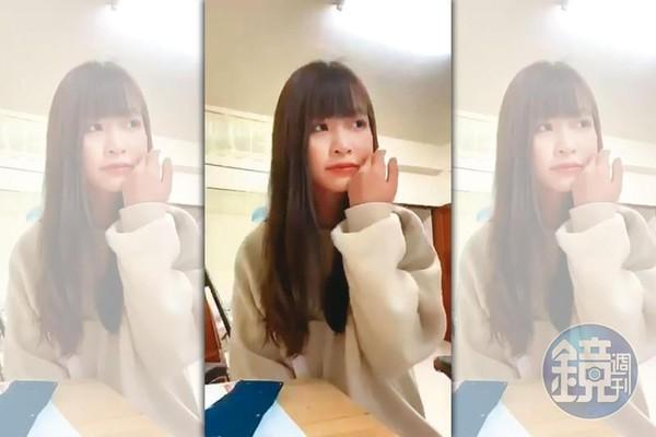 莊凌芸殞落「最後503秒自拍留言曝光」 落淚告別:那2下真的很痛