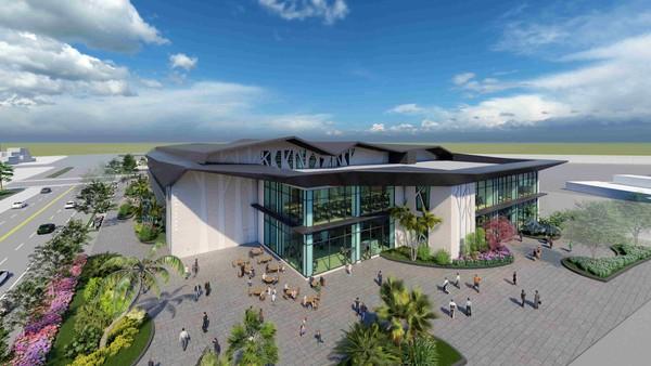高雄新景點來了!「最美運動中心」 有10大設施 泳池、健身房全滿足 |