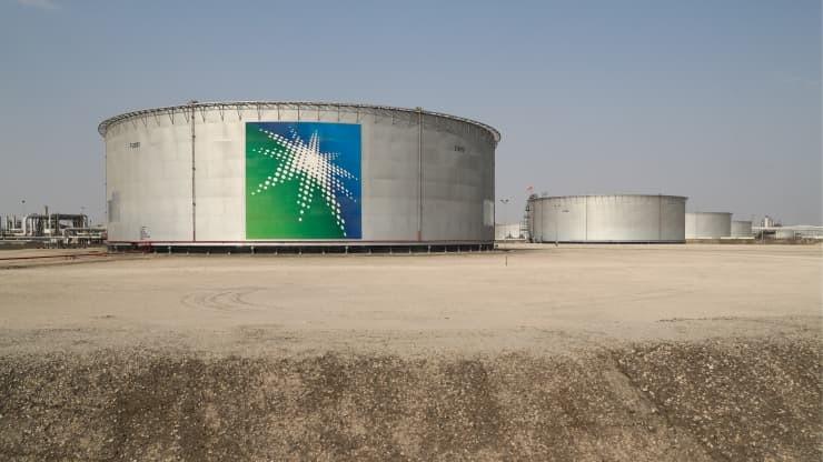 ▲沙烏地阿拉伯國營石油公司沙烏地阿美(Saudi Aramco)。(圖/取自CNBC)