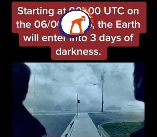 地球將陷3天黑暗!時間旅人曝光確切日期 遵守「6不要」才會安全