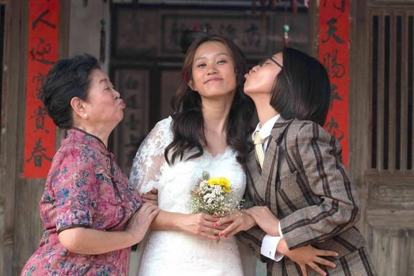 「國民阿嬤」陳淑芳暖心收留張庭瑚、顏卓靈 為黃堯親手縫婚紗