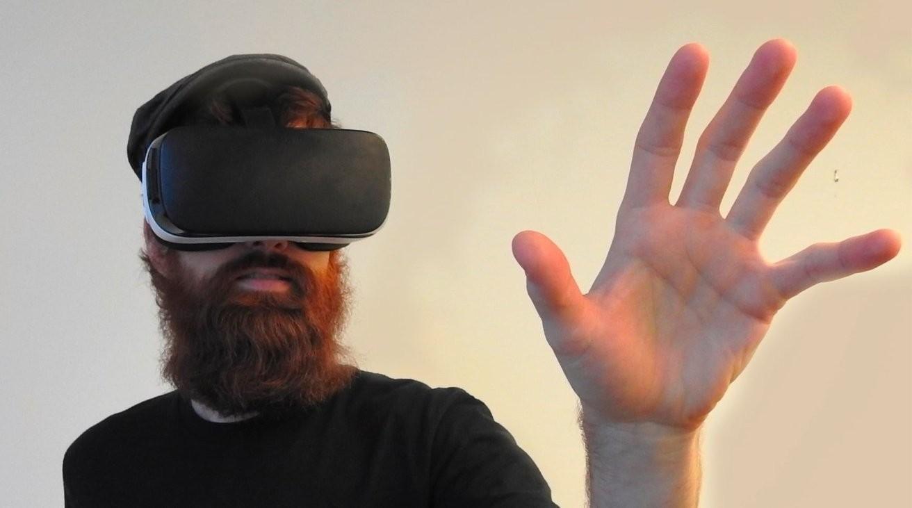 ▲蘋果AR頭戴式裝置新增2項專利。(圖/取自appleinsider)