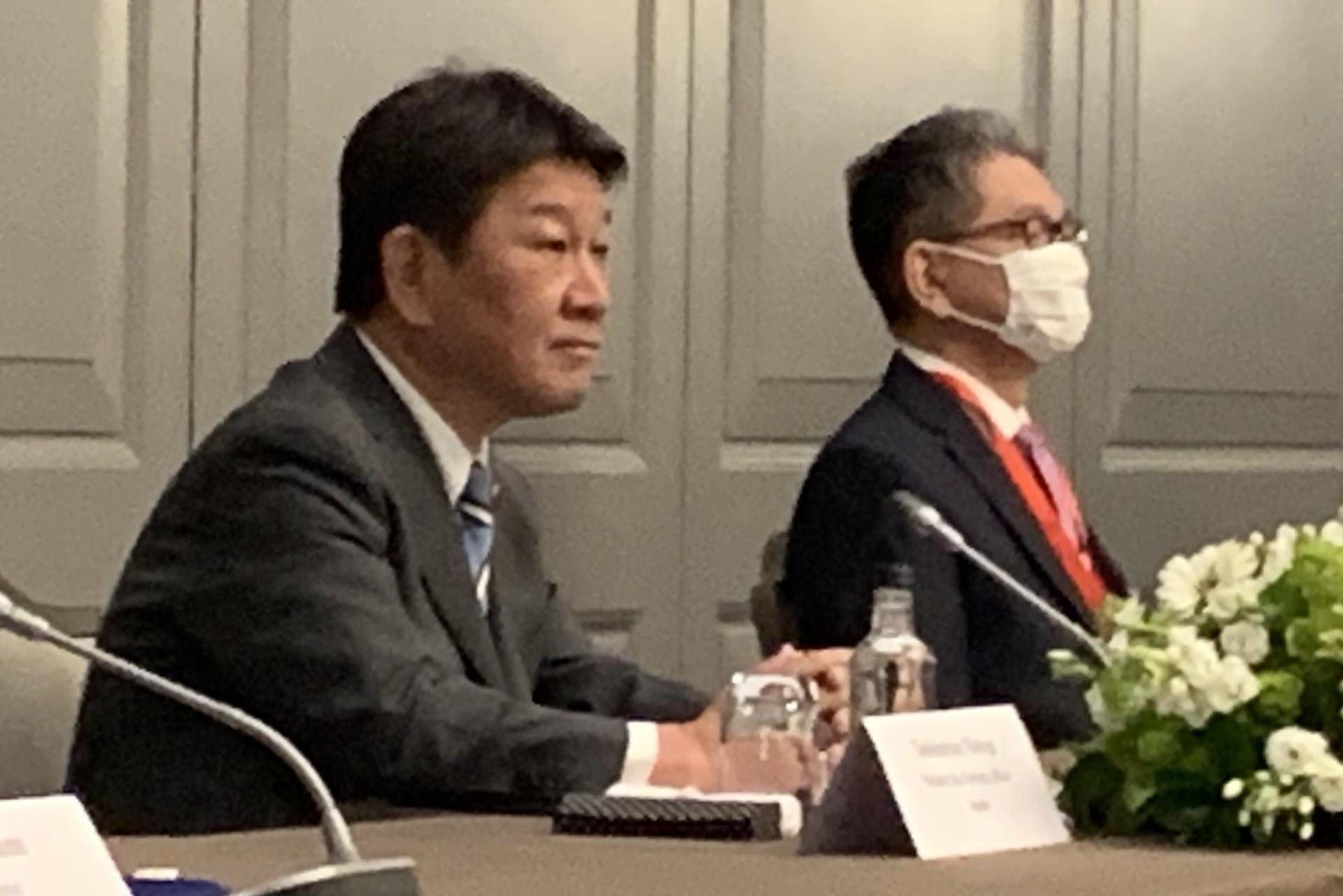 ▲▼日本外務大臣茂木敏充。(圖/達志影像)