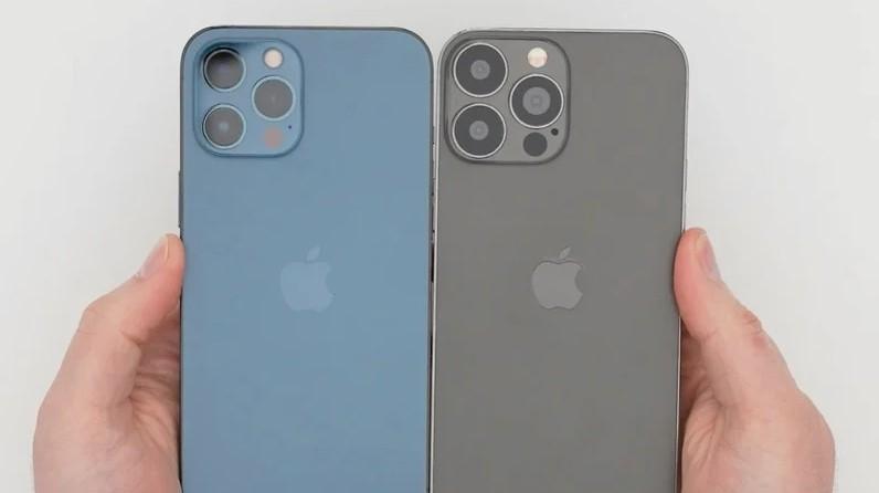 ▲iPhone 13 Pro Max的機模。(圖/取自macrumors)