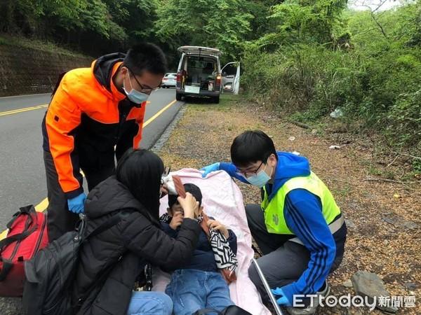 7歲童高山症發作母衝馬路!「命運警車」神救援:母親節最好禮物