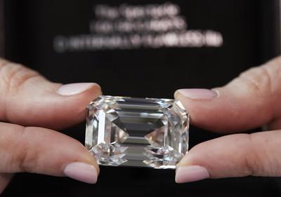 101克拉!俄羅斯產「史上最大鑽石」下周將拍賣 價值近5.5億