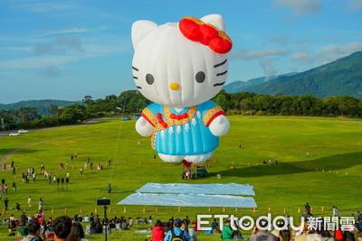 台東限定!KITTY熱氣球鹿野高台現身 粉絲朝聖搶先看