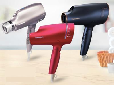 絕美雲灰紫「Panasonic吹風機」2280元 吹乾超快還能順便護髮