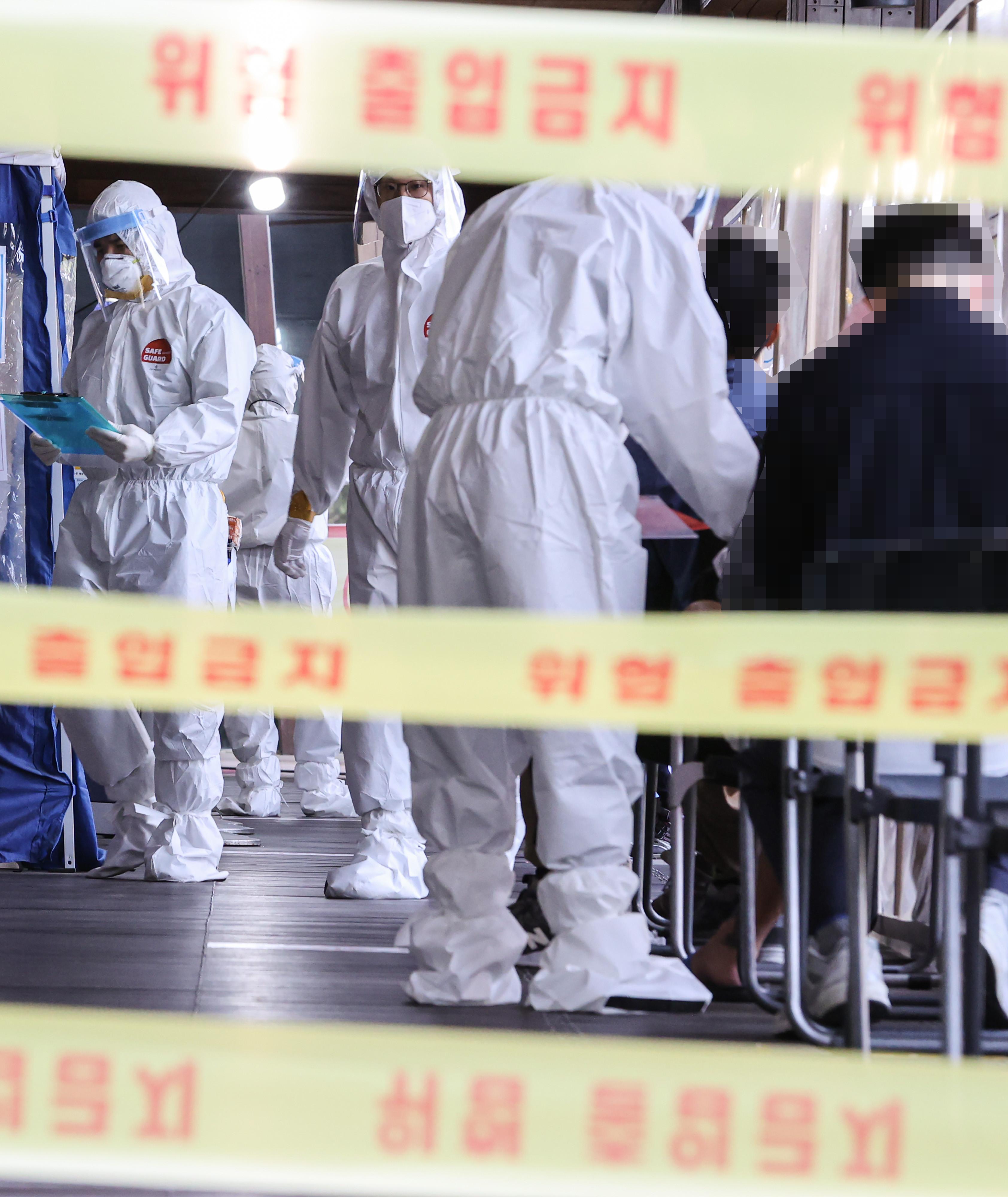 ▲▼當局憂心變種病毒恐怕將在南韓全境大流行。(圖/達志影像)