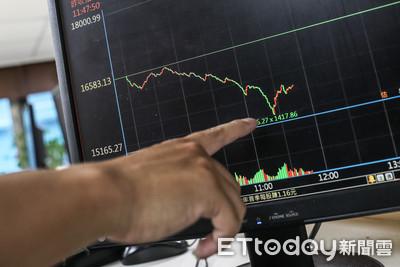 快訊/台股收跌680點!盤中狂殺1418點創紀錄 殺出7727億元歷史天量