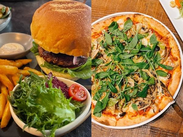 蔬食好吃到懷疑人生!未來肉漢堡、黑松露野菇披薩 6家人氣店別錯過   E