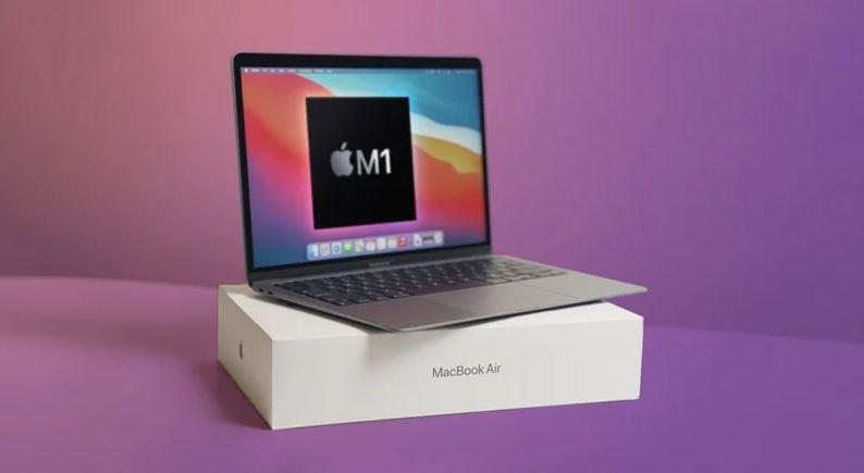 ▲蘋果2021年Q1筆電出貨量估達570萬台。(圖/取自MacRumors)