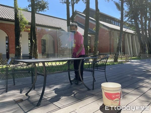 防疫全面升級  台南水道博物館禁止飲食並且恢復單一入口管制 | ETto