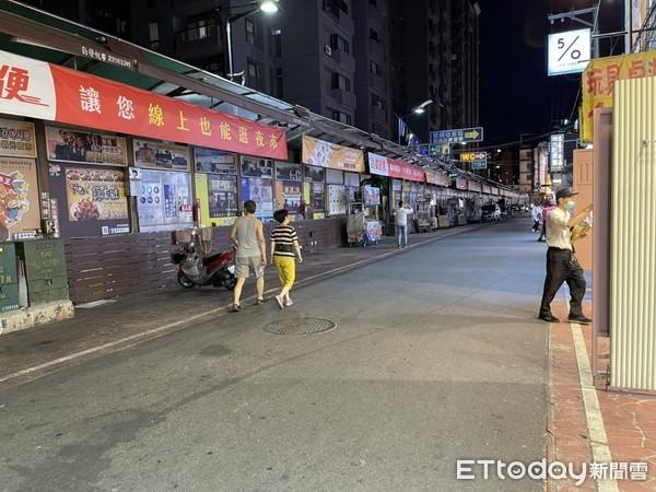 逢甲夜市現況曝!這條路平時人擠爆 現在...淡淡的淒涼 | ETtoda