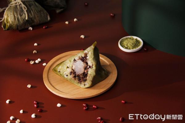 端午換新口味!傳統老粿行推抹茶紅豆粿粽 新東陽植物肉入粽 | ETtod