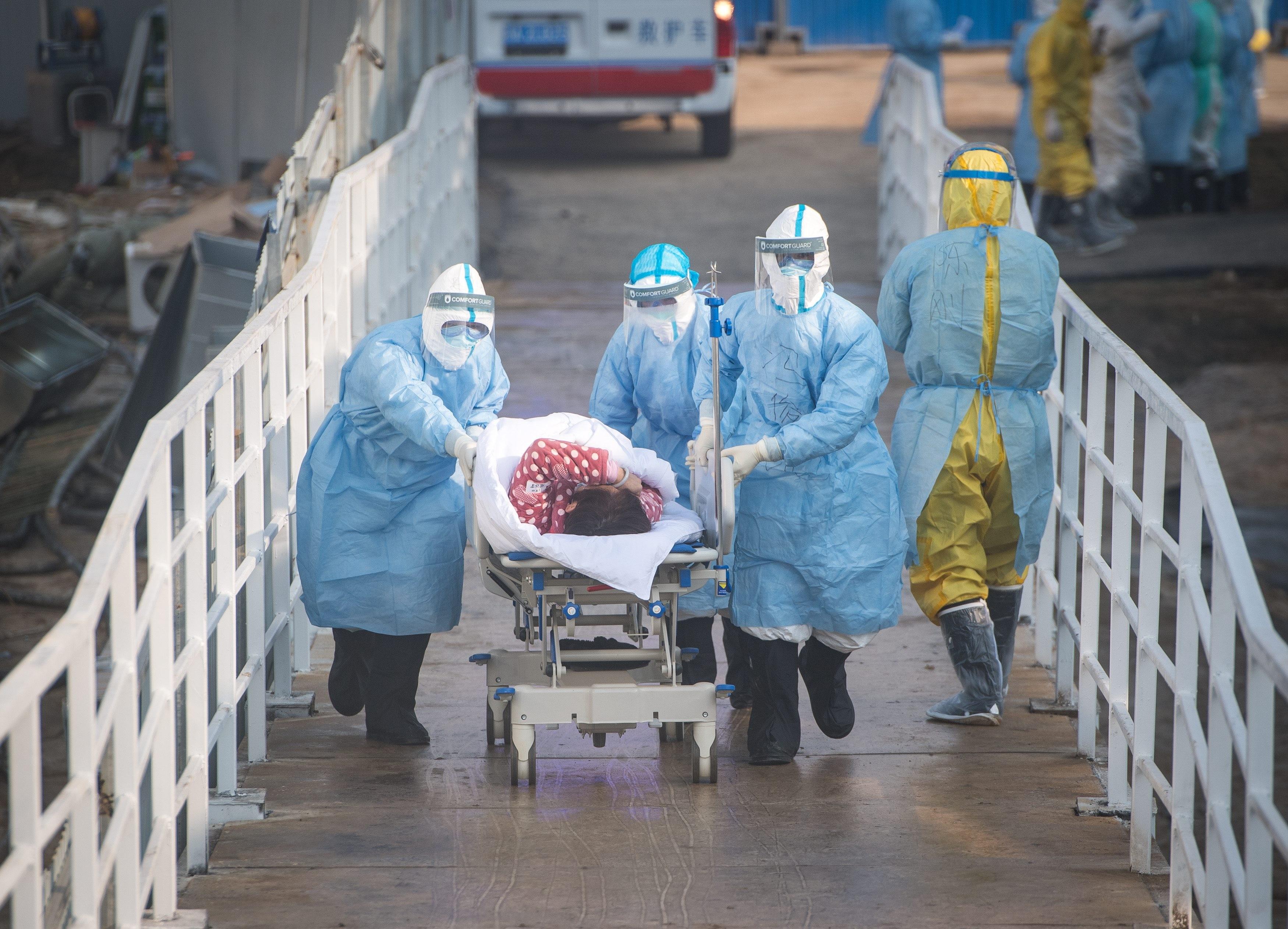 ▲▼美國近來一份情報報告指出,新冠病毒恐是從武漢的病毒實驗室外洩。(圖/達志影像)