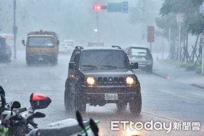 雨彈炸雙北「淹水區域再擴大!」 台北5區、新北3區列一級警戒