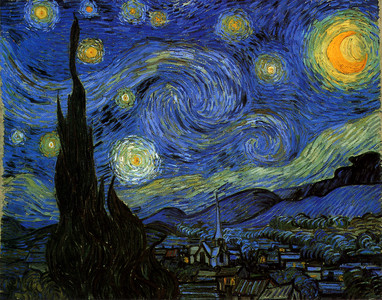 四台魚眼相機拍出《星夜》般奇蹟夜空