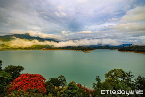 梅雨進帳980萬噸 日月潭湖光山色「雲氣繚繞」美景重現 | ETtoda