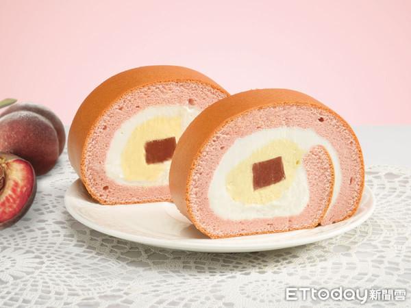 在家就想吃!夢幻「蜜桃芒果生乳捲」開賣了 宅配、YTM機都買得到 | E