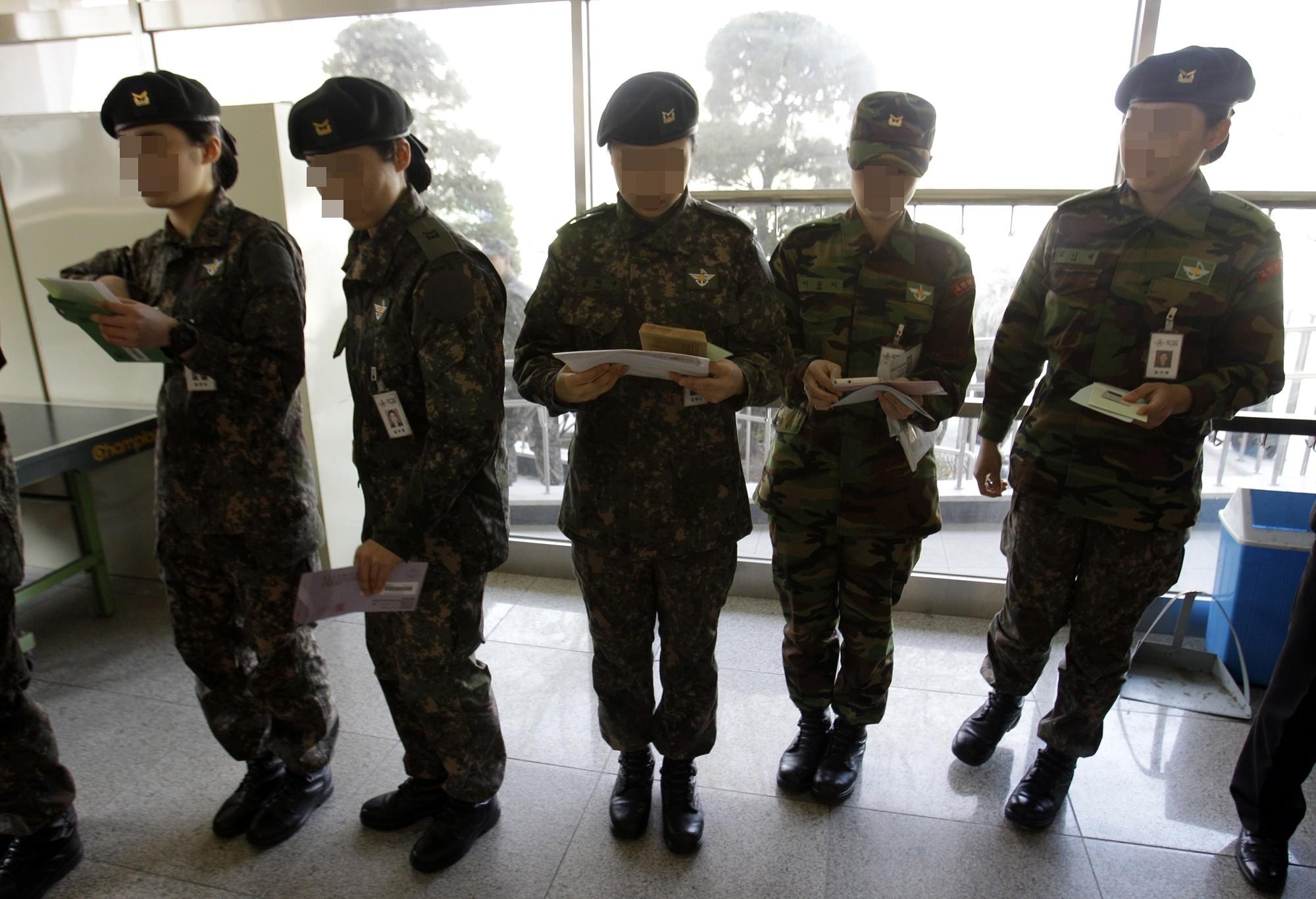 ▲▼南韓軍隊內,女兵遭性騷擾的案件頻傳。(示意圖,非當事人/達志影像/美聯社)