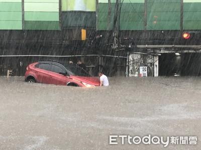 梅雨鋒面南下「雨彈炸南台!」 南投、雲林入列淹水一級警戒