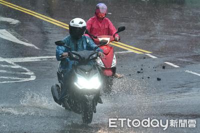 快訊/颱風將來雨彈炸南台!高雄發佈一級淹水警戒「下班小心!」