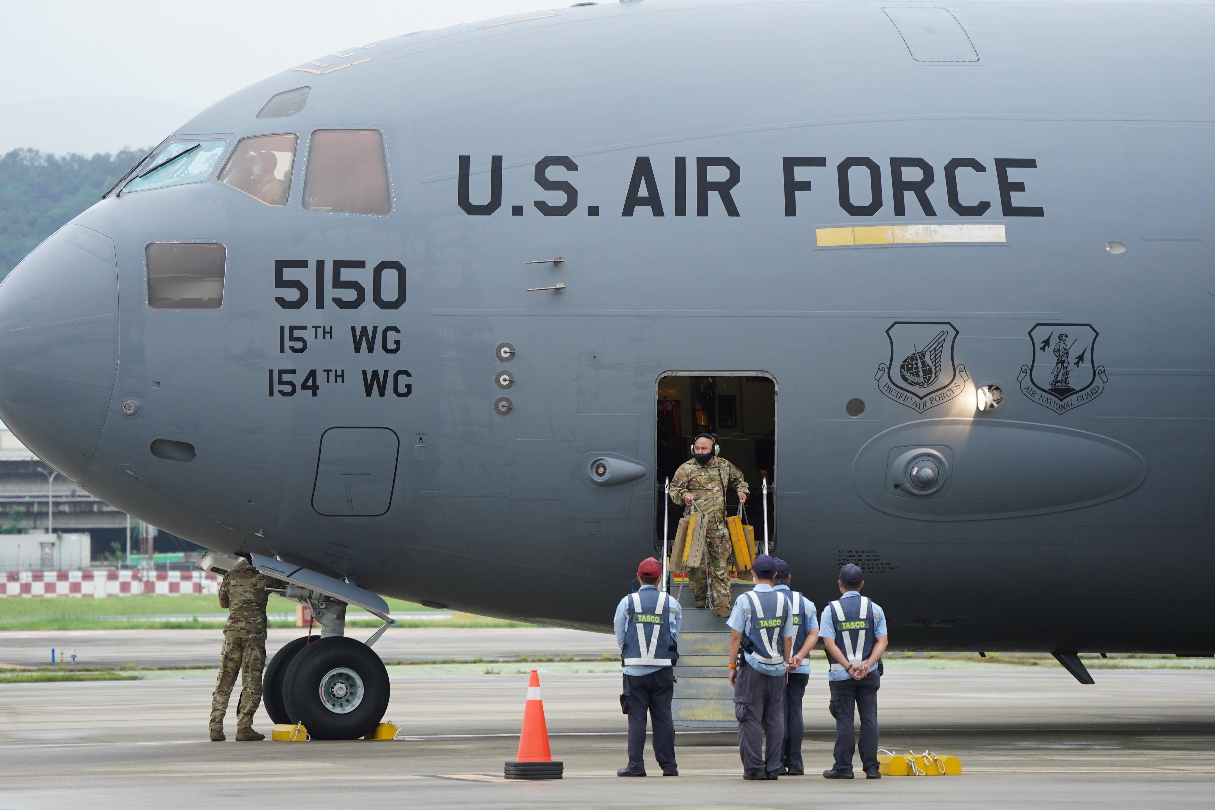 C-17,運輸機,C-130,F-22,共軍,美軍