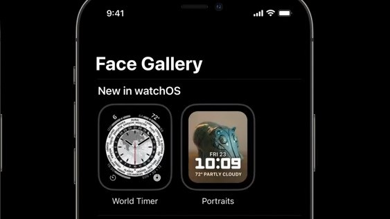 ▲watchOS 8新錶面「World Timer」。(圖/取自蘋果官網)