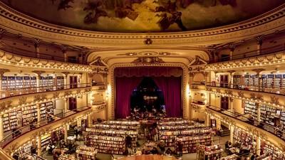 全球最美書店TOP10,看書也能有情調