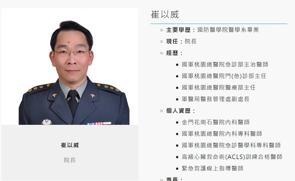 快訊/國軍新竹醫院院長打黑箱疫苗 國防部拔官、市府再罰200萬